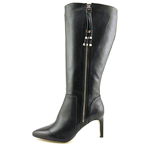 Inc International Concepts Féminines Libbi Large Cuir De Veau Genou Haute Botte Noir