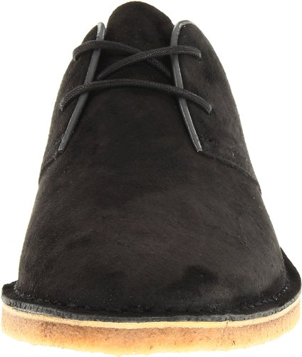 Seavees Mens Buck Suede Oxford Blacktop