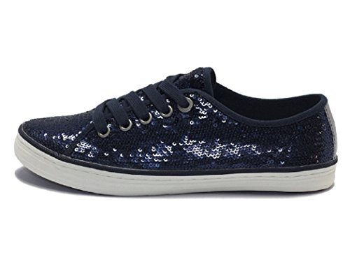 Oliver 5-5-23632-26/805-805 - Zapatos de cordones de Lona para mujer 805NAVY