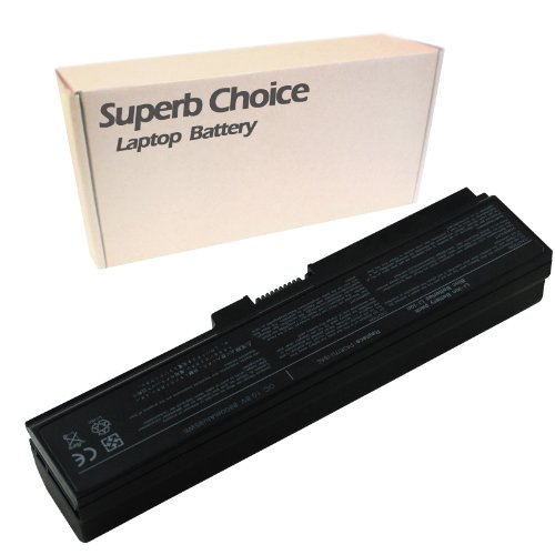 Superb Choice 12-Cell Battery for TOSHIBA Satellite L755-S5306 L755-S5308 L755-S5349 L755-S5350 L755-S5351 L755-S5353 L755-S5354 L755-S5355 (Toshiba Satellite L755 S5353)