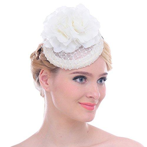 FAYBOX Rhinestone Fascinator Headband Headpiece product image