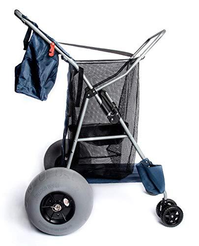 Cart Field Equipment - Custom Big Wheel Beach Cart, 12