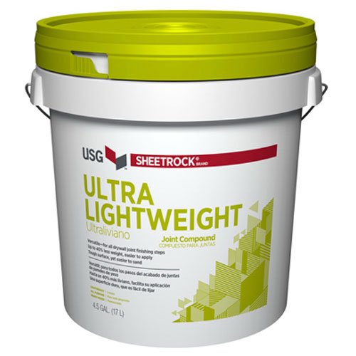Lightweight Joint Compound - U S Gypsum 381903 4.5GAL Ultr LW Compound, 4.5 Gal