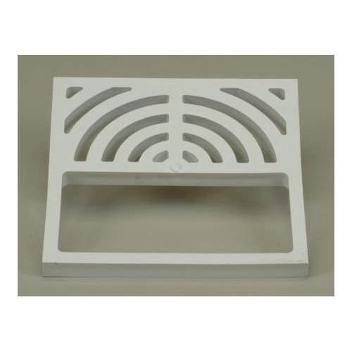 "free shipping Proflo PF42896 9"" X 9"" Floor Drain Grid Only, White"
