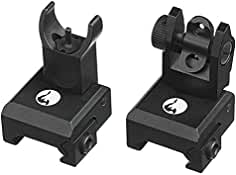 Hammerhead Tactical Premium Military Spec Flip Up Iron Rear/Front Sight Mount