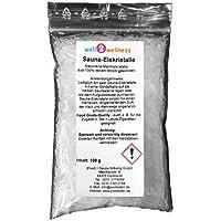 Sauna - Eiskristalle/Menthol - Kristalle im 100g Beutel - aus 100% reinem Minzöl