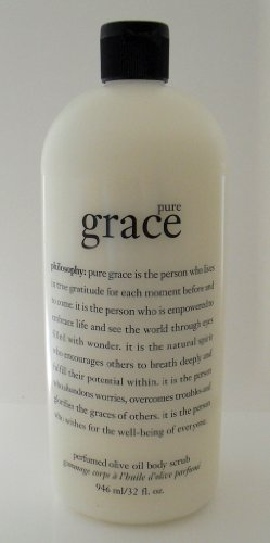 Philosophy Pure Grace Perfumed Olive Oil Body Scrub 32 fl oz