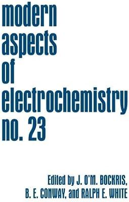modern aspects of electrochemistry no 6 bockris j om conway b e