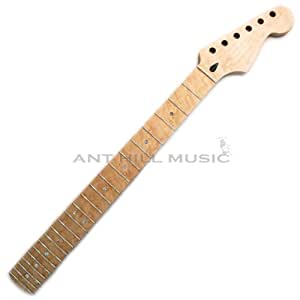 Mighty Mite Electric Guitar Neck - Stratocaster Guitar Neck - Birdseye Maple