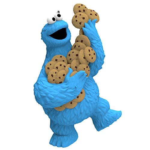 Hallmark Keepsake Christmas Ornament 2019 Year Dated Sesame Street Cookie Monster, ()