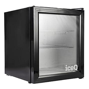 Iceq 49 Litre Glass Door Mini Drinks Fridge Black Amazon