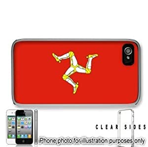Isle of Man Mann Flag Apple iPhone 6 plus Case Cover Clear on Sides