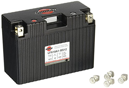 Shorai LFX18A1-BS12 Extreme Rate Lithium Iron Powersports Battery