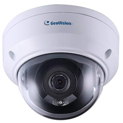 (GEOVISION | 84-ADR470W-0010 | 125-ADR4701-000 GV-ADR4701, 4 Megapixel Network IR Outdoor Dome Camera, 2.8mm Lens,RJ45 Connection)