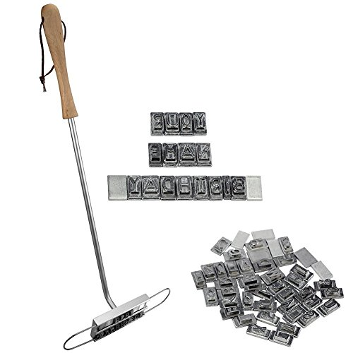 UPC 703546323915, Lemonbest BBQ Barbecue Grill Branding Iron with 55 Changeable Letters Personalized Meat Steak Burger Accessory Tool for Name and More