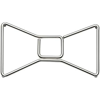 KSNY All in Good Taste Metal Trivet Bow, Stainless