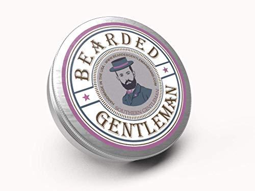 Bearded Gentleman: Beard Balm - Southern Gentleman | Bourbon Pecan Pie | All Natural Beard Conditioning Balm | 2 oz | Handmade by Bearded Gentleman