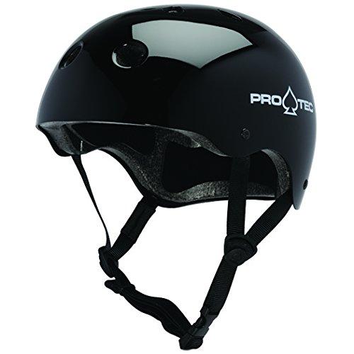 クラシック ヘルメット(M/Lサイズ) Pro-Tec社 Gloss 黒【並行輸入】