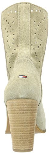 Slouch Tommy Hilfiger G1385anett Spring Women's Beige light 3b Taupe Boots 032 UURxOXAq