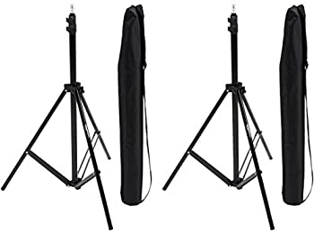 Amazonbasics Aluminum 7-foot Light Stand With Case - 2-pack 5