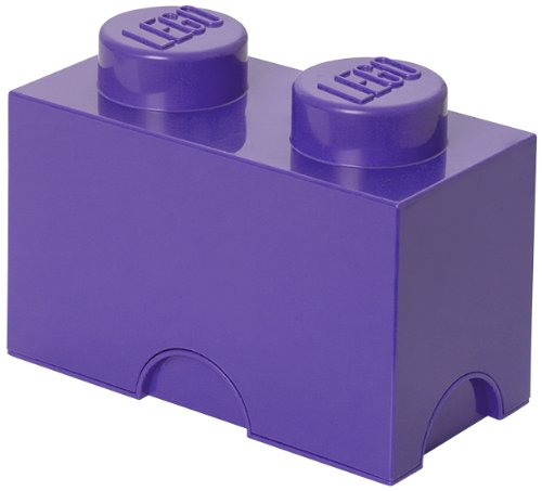 Lego Friends Storage Brick 2 Medium Lilac (Lego Brick Storage Friends)
