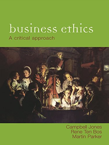 53 best business ethics books of all time bookauthority book cover of campbell jones martin parker rene ten bos for business ethics fandeluxe Gallery