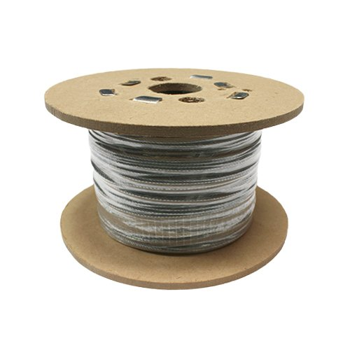 SWR GS719040050AMZZ- Cuerda de alambre de acero galvanizado, 7 x 19, 50 m, 4 mm, 1770 N/mm2 SWR Group