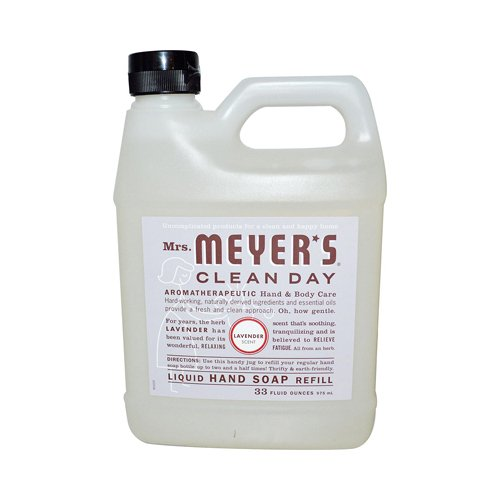 Price comparison product image Mrs. Meyers 33 fl oz Liquid Hand Soap Refill - Lavender44; Case Of 6