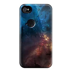 Ipod Touch 5 trong Protect Cases - Space World Corner Design