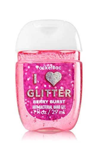 Bath & Body Works PocketBac Hand Gel I Heart Glitter Berry Burst]()