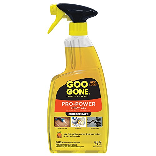 Goo Gone Pro-Power –  Surface Safe, Great Cleaner, No Harsh Odors, No Sticky Residue, Can be used on tools and machinery, 24 fl oz