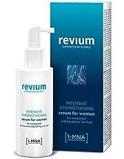 Revium - Spray de sérum intensivo anticaída para mujeres, con molécula 1-metilnicotinamida, complejo H-Vit y arginina, 150 ml