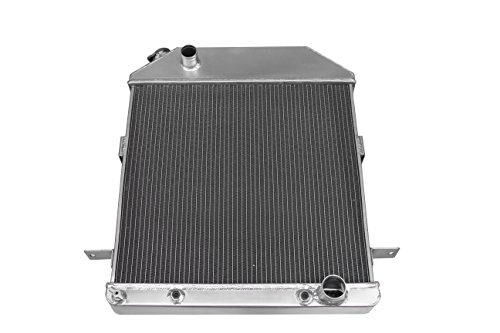 (ZC4001CH New 3 Rows All Aluminum Radiator Fit 1939-1941 Ford Deluxe Sedan Chevy Engine )