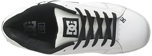 Sneakers Bianco white Net Shoes Unisex Dc Basic black qx8OEn