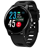 FEDULK Android iOS Sports Smart Watch Fitness Calorie Sleep Monitoring Healthy Activity Life Smartwatch(Black)