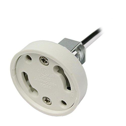 General 00773 - Bi-Pin (GU24) Base Twist and Lock Base (LH0773 GU24 Base CFL lamp holder)