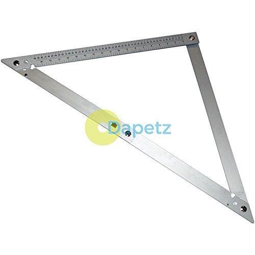 Dapetz ® Aluminium Folding Square - 24 600mm Tilling Carpentry Roofing Tools