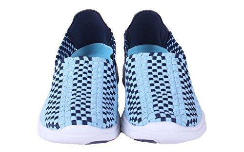 Pies Cómodos Happy Feet Para Hombre Y Para Mujer Ncaa College Woven Shoe - OficialHombreste Con Licencia De Carolina Del Norte