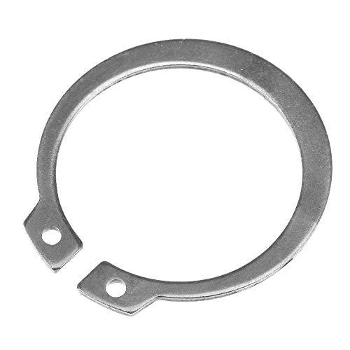 20Pcs 15mm Stainless Steel External Retaining Rings