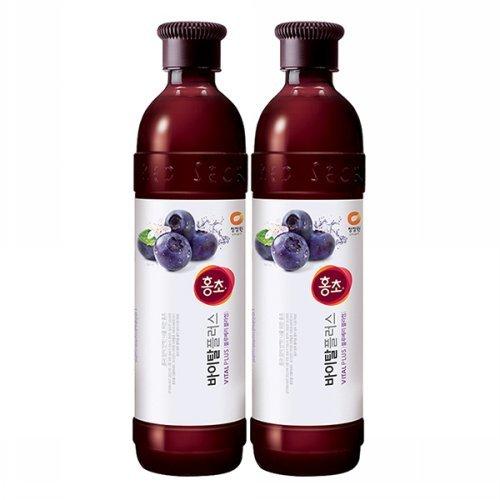 (NEW) Hongcho Vital plus Blueberry vinegar Drink (Pack of 2)