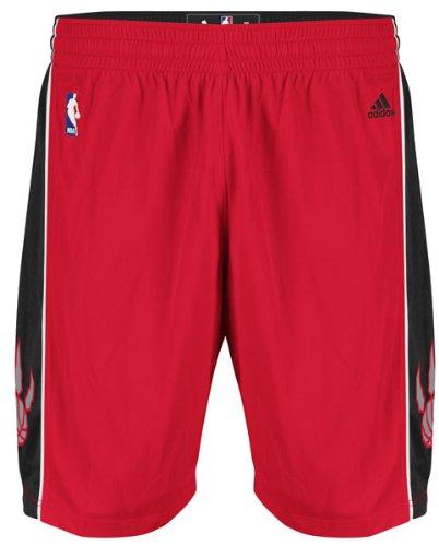 NBA Toronto Raptors Youth Boys 8-20 Replica Road Shorts, Medium (10/12), Red
