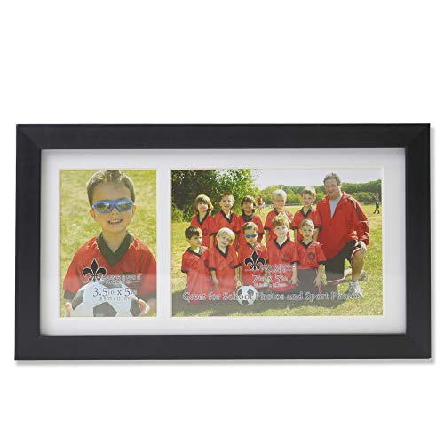Lawrence Frames Class Team Picture, Two Opening Frame, 13x7, Black