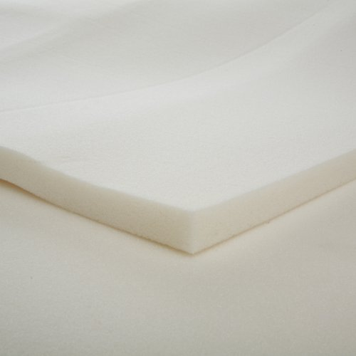 1-Inch Slab Memory Foam Mattress Topper, Full