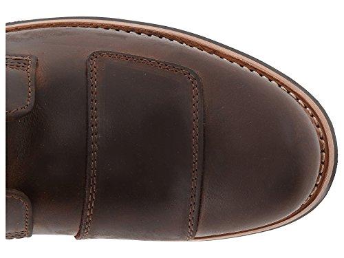 Clarks Men's Norton Rise,Cognac Leather,US 7.5 M