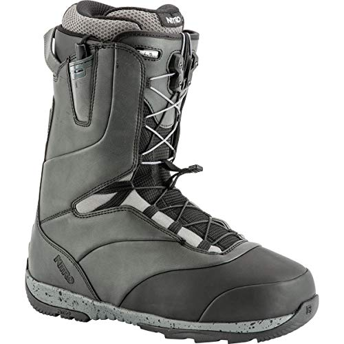 (Nitro Venture TLS Pro Snowboard Boot - Men's Black, 11.0)