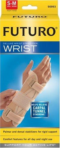 Futuro Deluxe Wrist Stabilizer, Small-Medium, Right Hand,(5.5 to - Futuro Deluxe Wrist Stabilizer