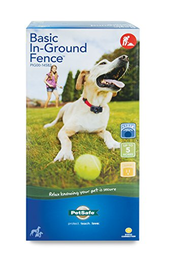 PetSafe Basic In-Ground Fence for Dogs and Cats, Waterproof, Tone and Static Correction, for Pets...