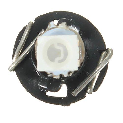 R SODIAL LED Lights 10x new Wedge 1210 SMD 1 LED Car Bulb T3 HVAC Climate Control Lights Light Color:white