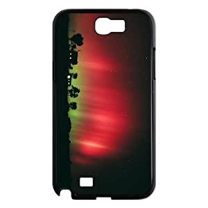YCHZH Phone case Of Magical Aurora Cover Case For Samsung Galaxy Note 2 N7100