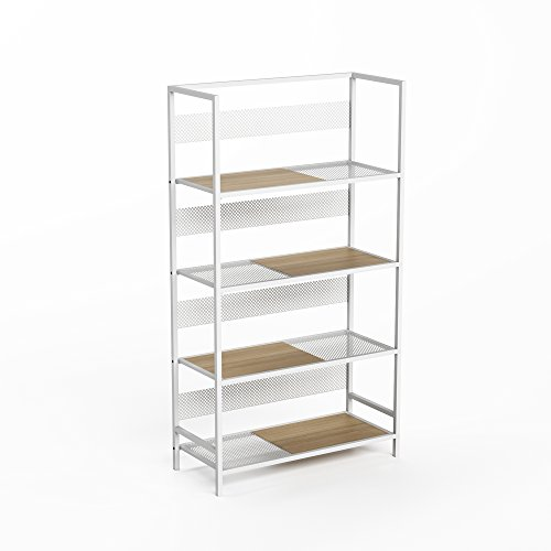 Jamesdar Doheny Bookcase, White